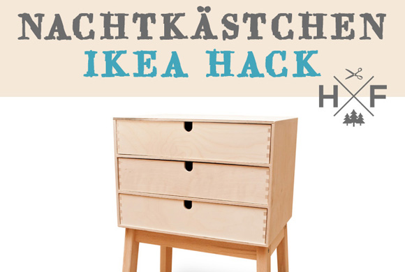 ikea hack eine mini kommode aus moppe bekv m handgemacht fussgegangen. Black Bedroom Furniture Sets. Home Design Ideas