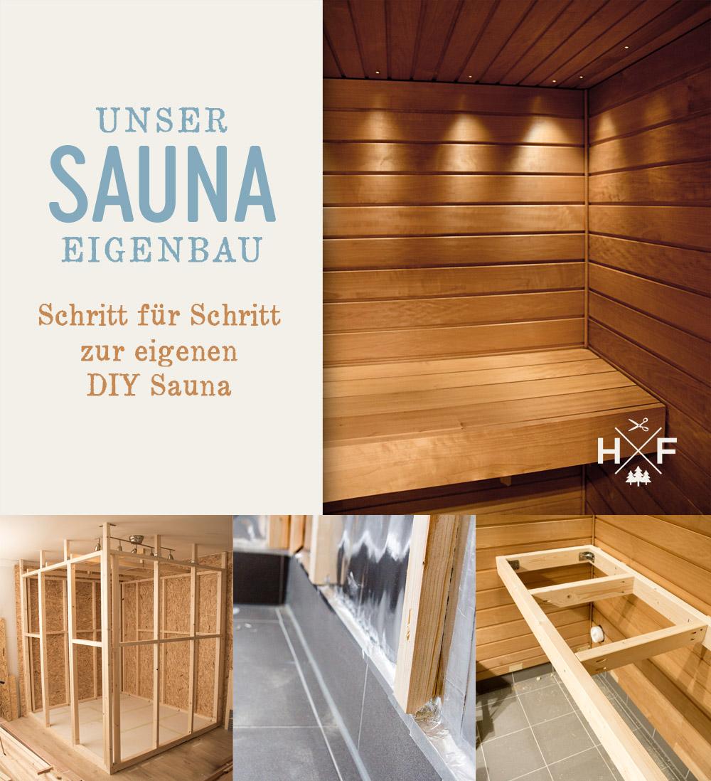 Unser Sauna Eigenbau - der Wandaufbau im Detail